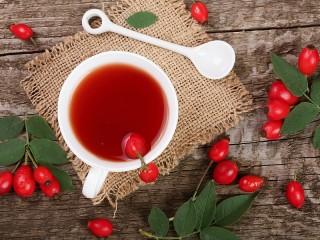 Собирать пазл Rosehip tea онлайн