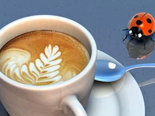 Собирать пазл Cup of coffee онлайн