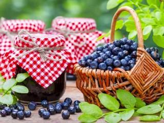 Собирать пазл Blueberry jam онлайн