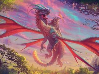 Собирать пазл Dragon онлайн