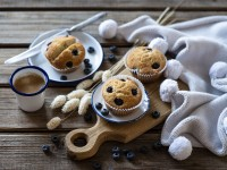 Собирать пазл Espresso and muffins онлайн