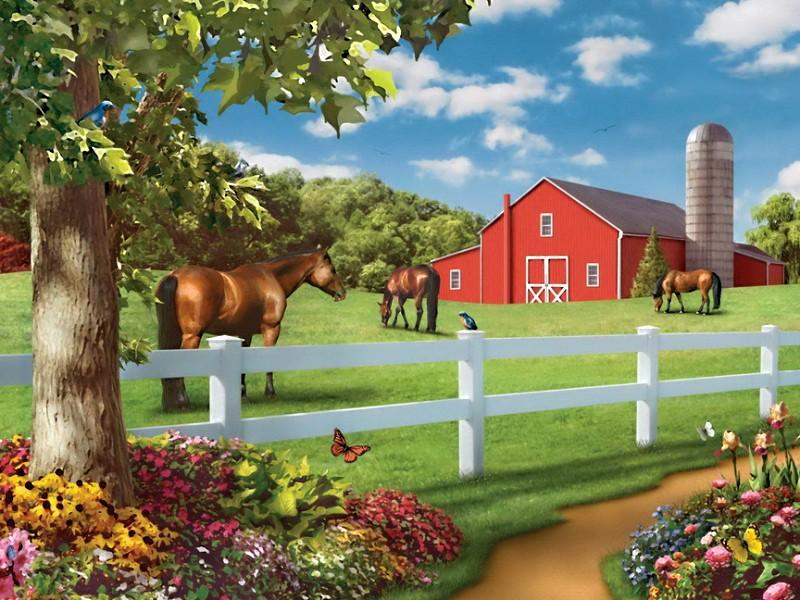 Puzzle Recueillir des puzzles en ligne - Farm