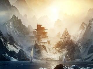 Собирать пазл Mountain China онлайн