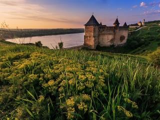 Собирать пазл Khotyn fortress онлайн