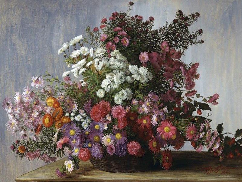 Puzzle Recueillir des puzzles en ligne - Chrysanthemums