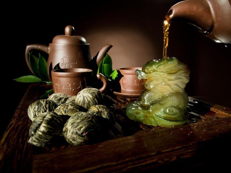Puzzle Recueillir des puzzles en ligne - Chinese tea