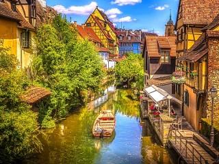 Собирать пазл Colmar France онлайн