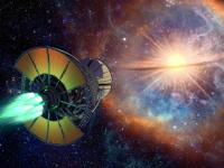 Собирать пазл Ship and star онлайн