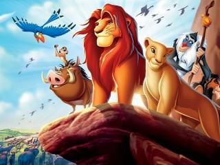 Собирать пазл Lion king онлайн