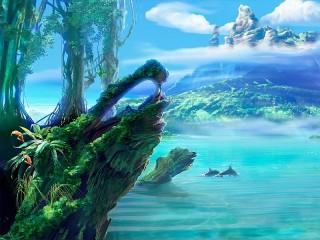 Собирать пазл Beautiful landscape онлайн