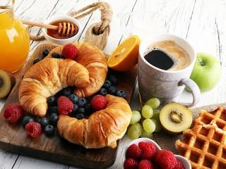 Собирать пазл Croissants онлайн