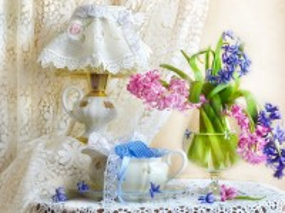 Собирать пазл Lace spring онлайн