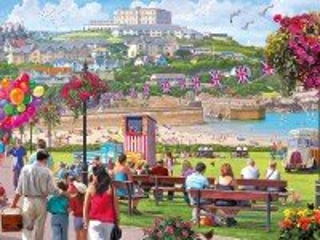 Собирать пазл Resort Town онлайн