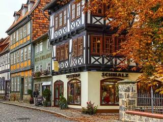 Собирать пазл Quedinburg Germany онлайн