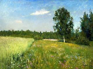 Собирать пазл Summer meadows онлайн