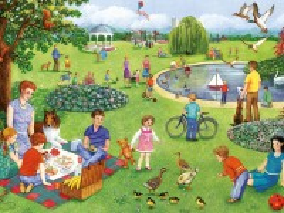 Собирать пазл Summer in the Park онлайн