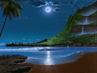 Собирать пазл luna v zalive онлайн
