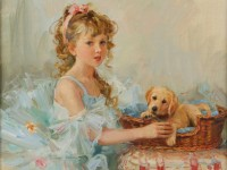 Собирать пазл Little lady онлайн