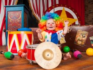 Собирать пазл Little clown онлайн