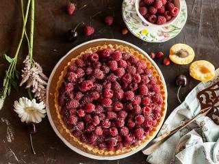 Собирать пазл Raspberry tart онлайн