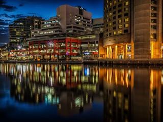 Собирать пазл Melbourne онлайн