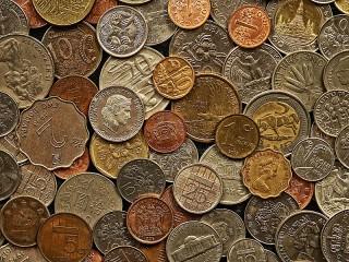 Собирать пазл Coins онлайн