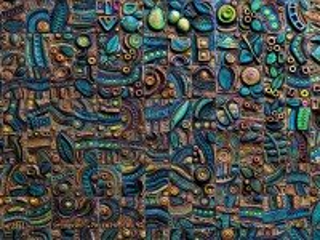 Собирать пазл Mural онлайн