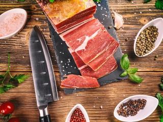 Собирать пазл Sliced meat онлайн