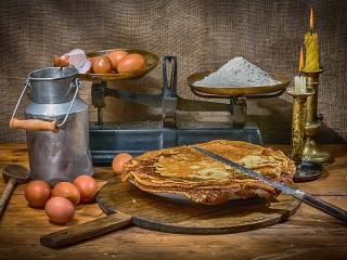 Собирать пазл Pancakes онлайн