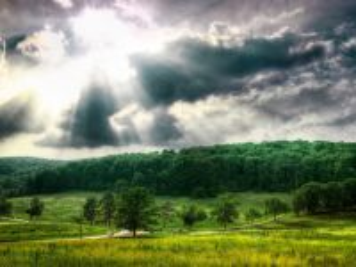 Собирать пазл The sky is overcast онлайн