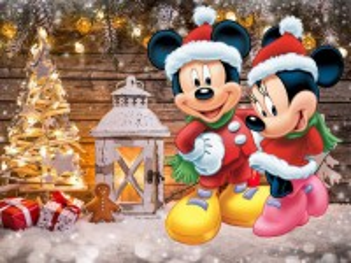 Собирать пазл Christmas collage онлайн