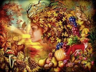 Собирать пазл Autumn wonders онлайн