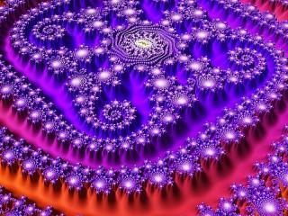 Собирать пазл Shades of purple онлайн