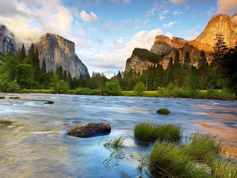 Puzzle Recueillir des puzzles en ligne - Mountains in Yosemite Park
