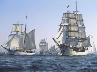 Собирать пазл Sails онлайн