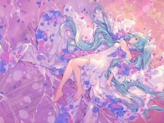 Собирать пазл Singer in colors онлайн