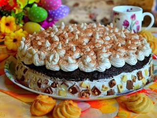 Собирать пазл Cream pie онлайн