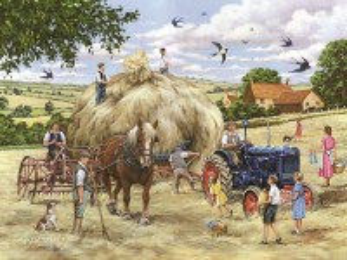 Собирать пазл Making hay онлайн