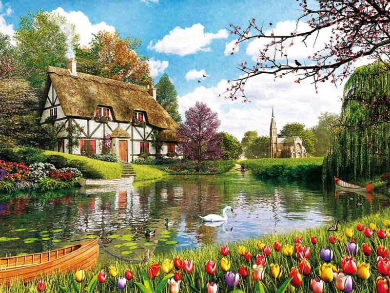 Puzzle Recueillir des puzzles en ligne - Tulips season