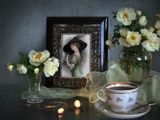 Собирать пазл Portrait from the past онлайн