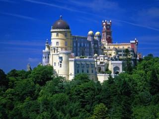 Собирать пазл Portugal Palace онлайн