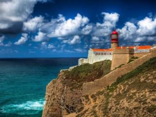 Собирать пазл Portugal lighthouse онлайн