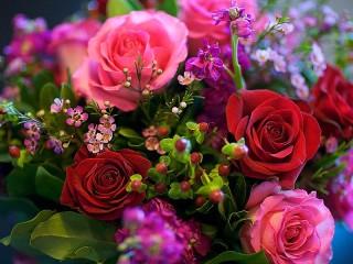 Собирать пазл Festive bouquet онлайн