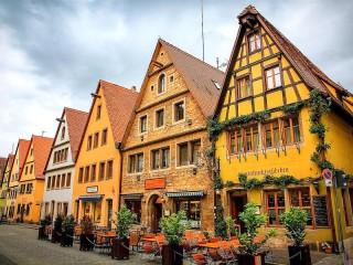 Собирать пазл Rothenburg Germany онлайн