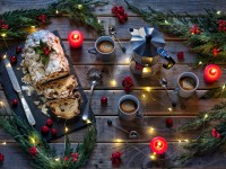 Собирать пазл Christmas roll онлайн