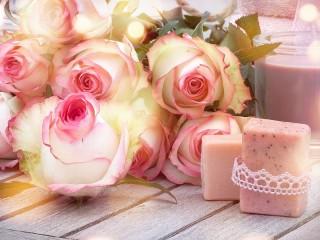 Собирать пазл Pink relax онлайн