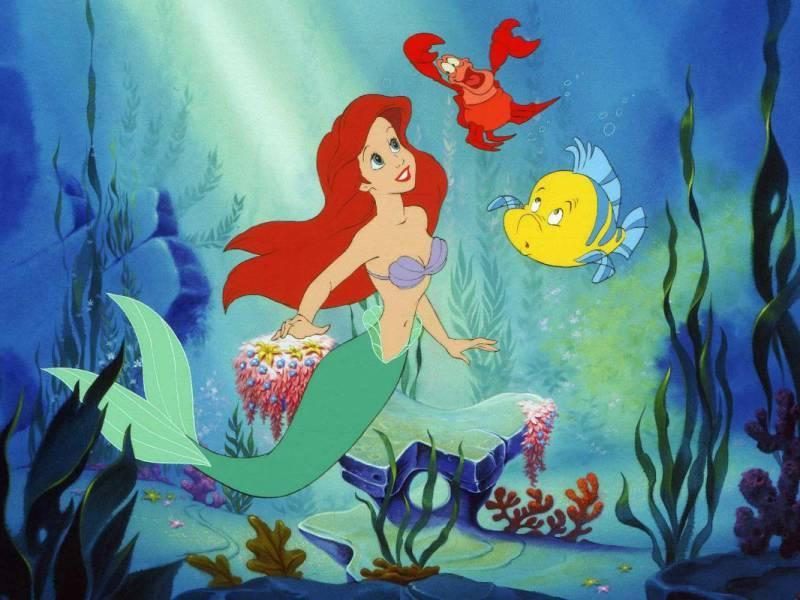 Puzzle Recueillir des puzzles en ligne - Mermaid Ariel