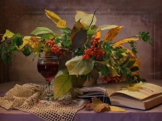 Собирать пазл Rowan bouquet онлайн