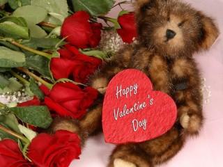 Собирать пазл Happy Valentine Day онлайн