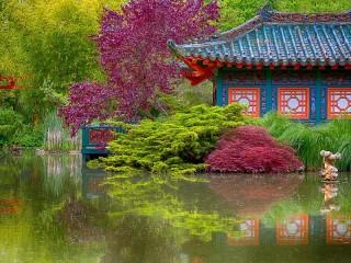 Собирать пазл Garden онлайн
